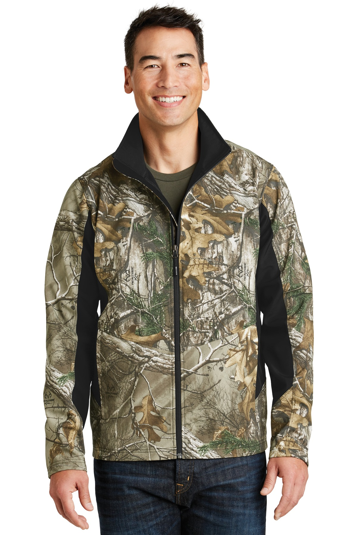 Port Authority 174 Camouflage Colorblock Soft Shell J318c