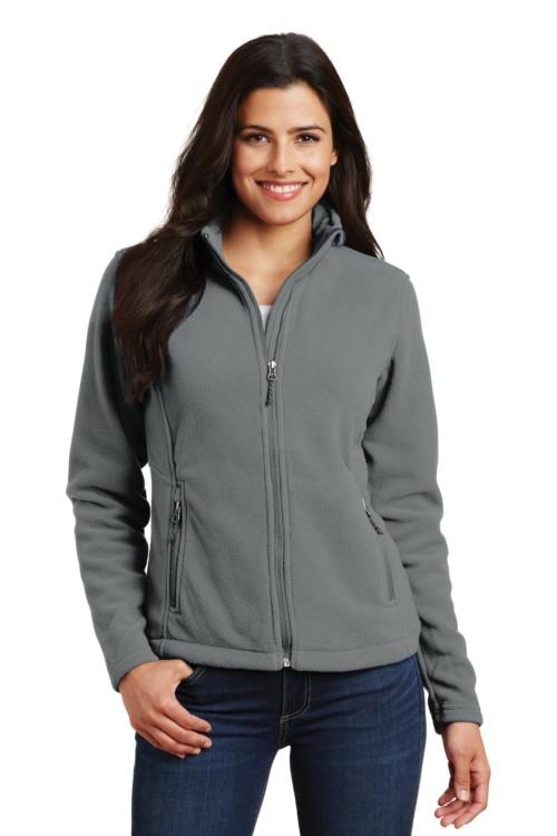 93f66b2a3281 Eddie Bauer® Ladies Full-Zip Heather Stretch Fleece Jacket. EB239